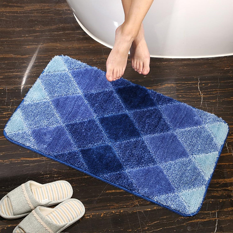 GUOSHIJITUAN Anti Slip Modern Carpet,Carpet Doormat for Bathroom Living Room Kitchen Rugs Door Mats Rugs for Bathroom Floor-B 50x80cm(20x31inch)