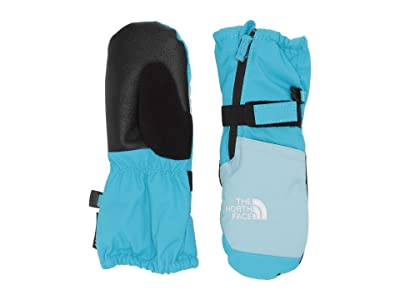 The North Face Kids Mountain Sports Mitt (Toddler/Little Kids) (Turquoise Blue) Ski Gloves