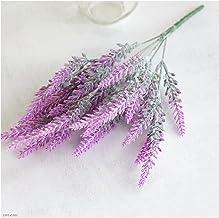 5 pc kunstmatige nep lavendel bloem planten simulatie plant bruiloft thuis kantoor bureaublad decoratie (Color : A)