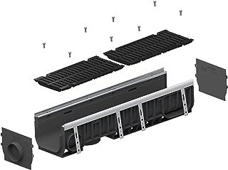 Standartpark - 8 inch trench drain cast iron complete set
