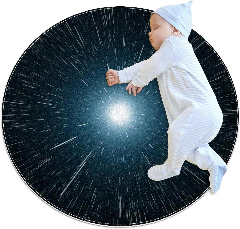 Raindrops Moon Max 48% OFF Kids Game Blanket Cheap SALE Start Pattern Circular Ki Round