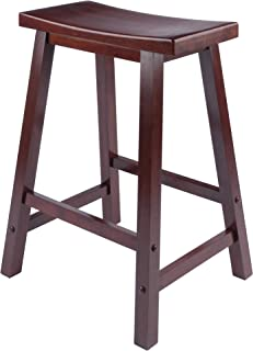 "Winsome 94084 Satori Stool, 24"", Walnut"