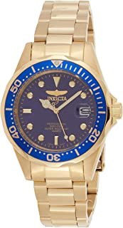 Invicta Pro Diver Men's Blue Dial Stainless Steel Band Watch - 8937