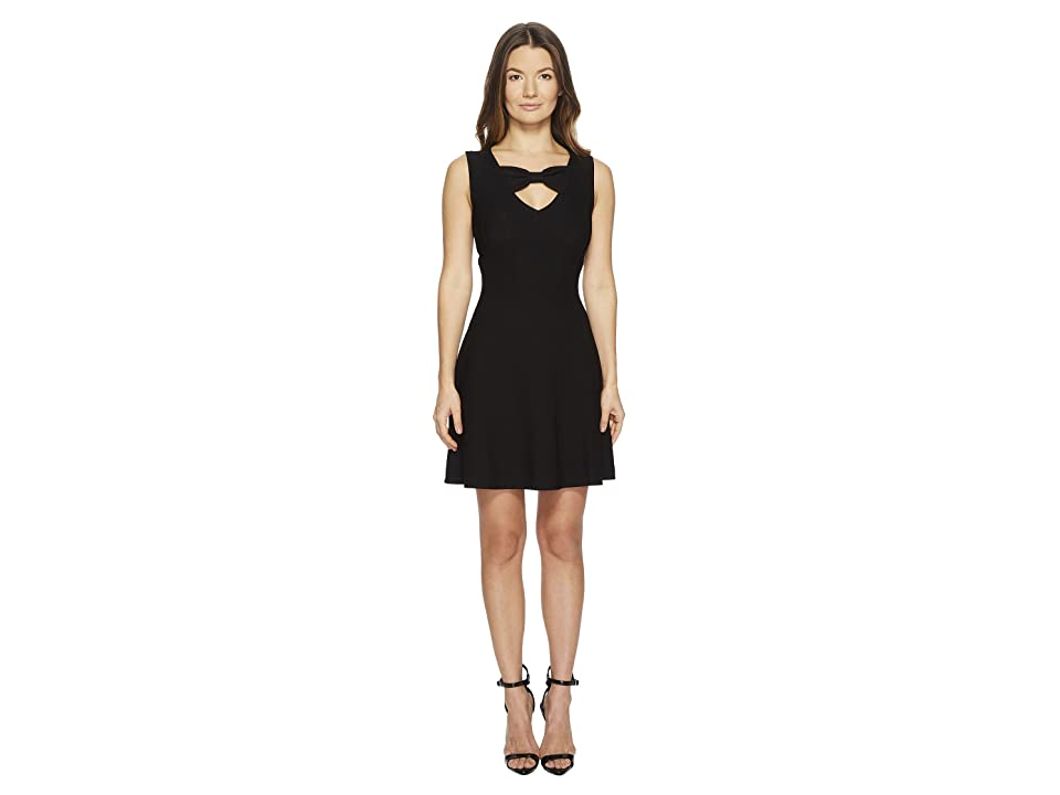 Boutique Moschino Dress w/ Cut Out (Black) Women