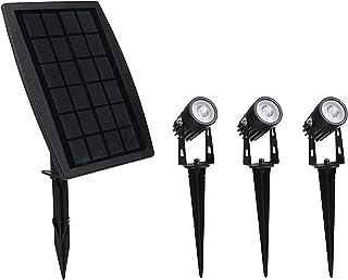 Solar Garden Lights Outdoor Waterproof Solar Powered Landscape Lights, 3-in-1 Solar Spotlights for Backyard Driveway Patio...