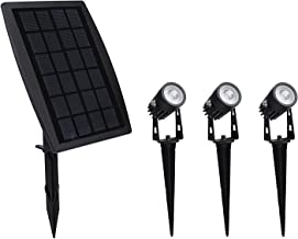 Solar Garden Lights Outdoor Waterproof Solar Powered Landscape Lights, 3-in-1 Solar Spotlights for Backyard Driveway Patio...