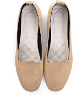 Women's Flat Shoes Slip-On Soft Solid Ballet Casual Comfortable Classic Cute Fashion Loafer