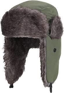 Yesurprise Trapper Warm Russian Trooper Fur Earflap Winter Skiing Hat Cap Women Men Windproof
