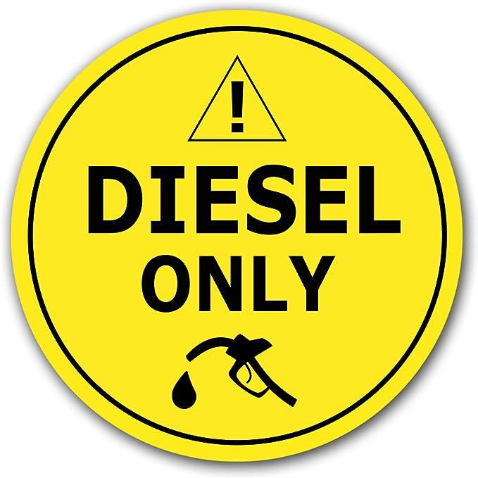 466 opinioni per 10x Adesivi Solo Diesel Ø 7cm Etichettatura dei Carburanti Gasolio per Uso