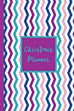 Christmas Planner: Festive Organizer Notebook -  Gift Tracking Sheets - Christmas Cards Log - Holiday Meals Planner Checklist - Online Shopping Gift List - Elf Ideas Journal To Write In