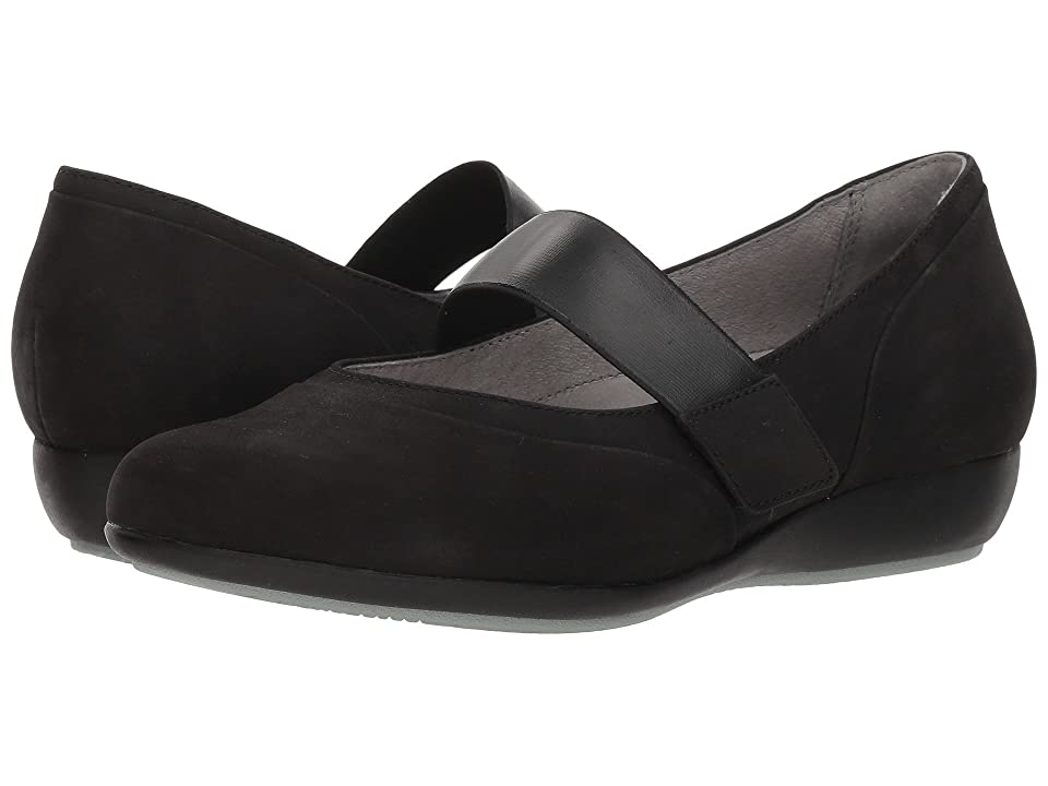 Dansko Kendra (Black Milled Nubuck) Women