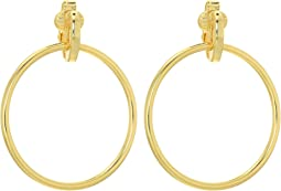 LAUREN Ralph Lauren - Door Knocker Clip Earrings