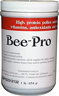 Mann Lake FD203 Bee-Pro Pollen Substitute Canister, 1-Pound