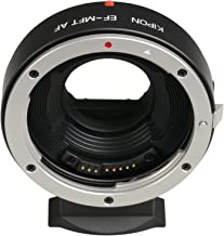 Kipon Autofocus AF Adapter for Canon EOS EF Lens to Micro Four Thirds M4/3 Camera