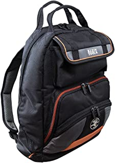 Backpack, Electrician Tool Bag, Tradesman Pro Organizer, 35 Pockets for Hand Tools and Gear Klein Tools 55475