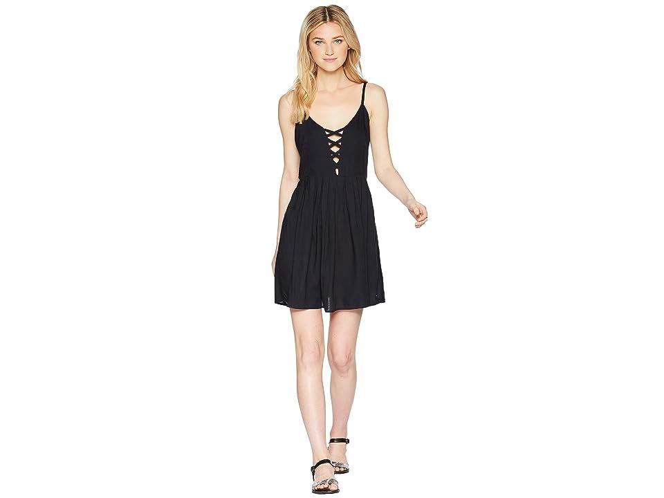 Volcom Cross Paths Dress (Black) Women