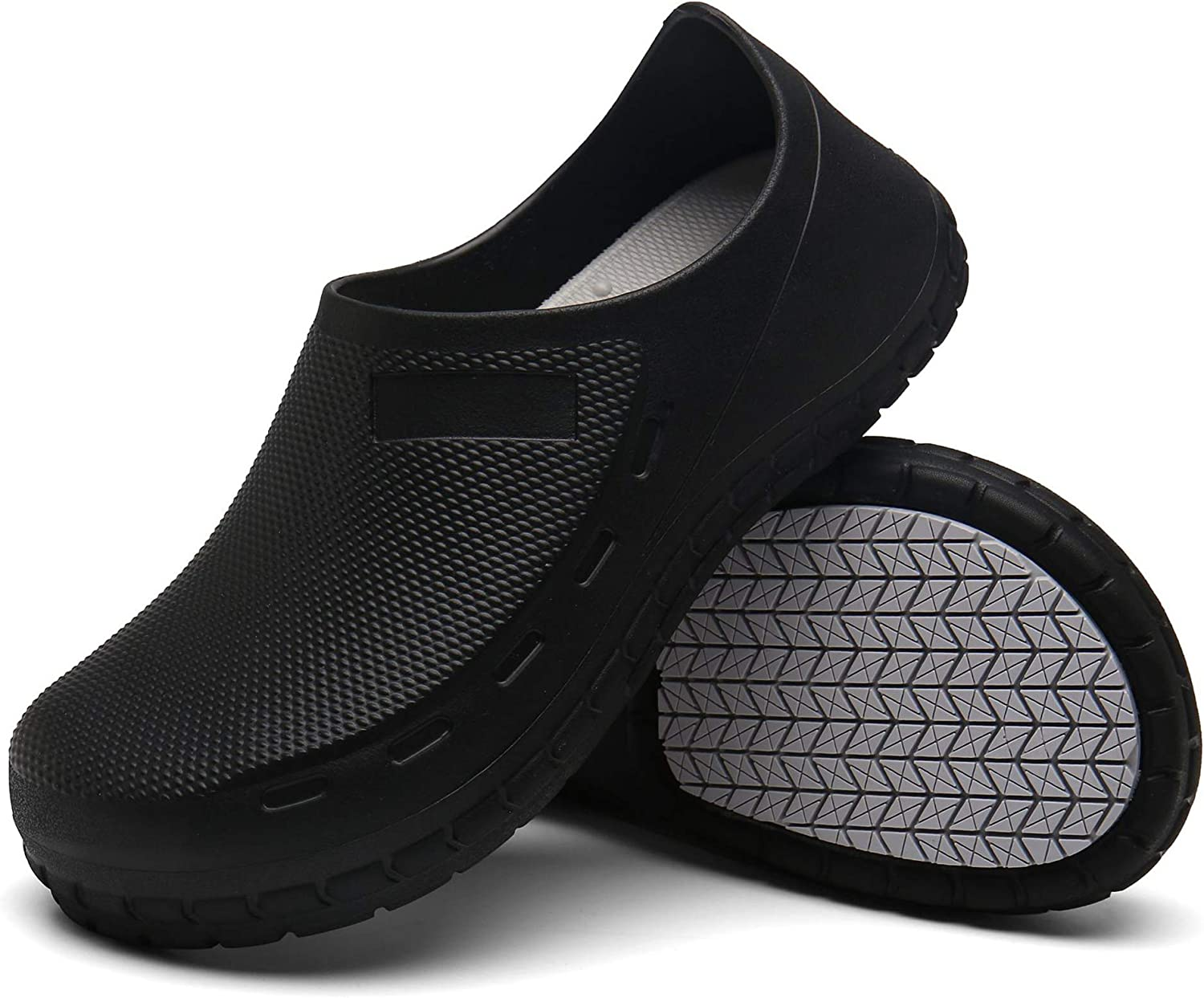 FFYLEN Chef Shoes for Men - 2021 spring and summer new Resistant Oil Non Waterproof Slip Sa Lowest price challenge