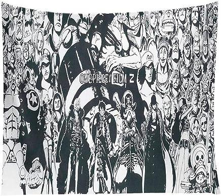 DYHOZZ タペストリーワンピースタペストリー寝室リビングルームアニメ装飾的なタペストリー背景布-150センチ×130センチ、200センチ×150センチ タペストリー (PATTERN : B, Size : 150CM×130CM)