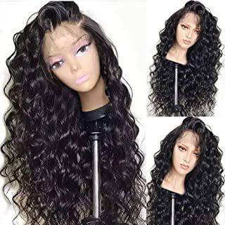 Glueless Lace Front Wigs for Women Natural Wave Pre-plucked Hairline with Baby Hair Heat Resistant Fiber Synthetic Lace Wigs 26 inch …