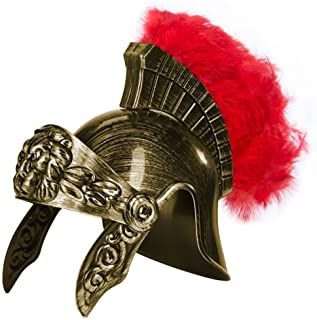knight helmet feather