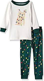 Gymboree Baby Boys 2-Piece Tight Fit Long Sleeve Long Bottoms Pajama Set