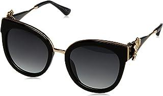 Jimmy Choo Women's Jade/S 9O Sunglasses, Blk Goldblk, 53