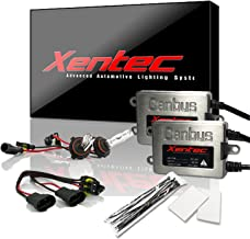 Xentec Xenon bulb H10 (or 9140) 6000K bundle with 45W Error Free Slim CANBUS Ballast (ultra white)