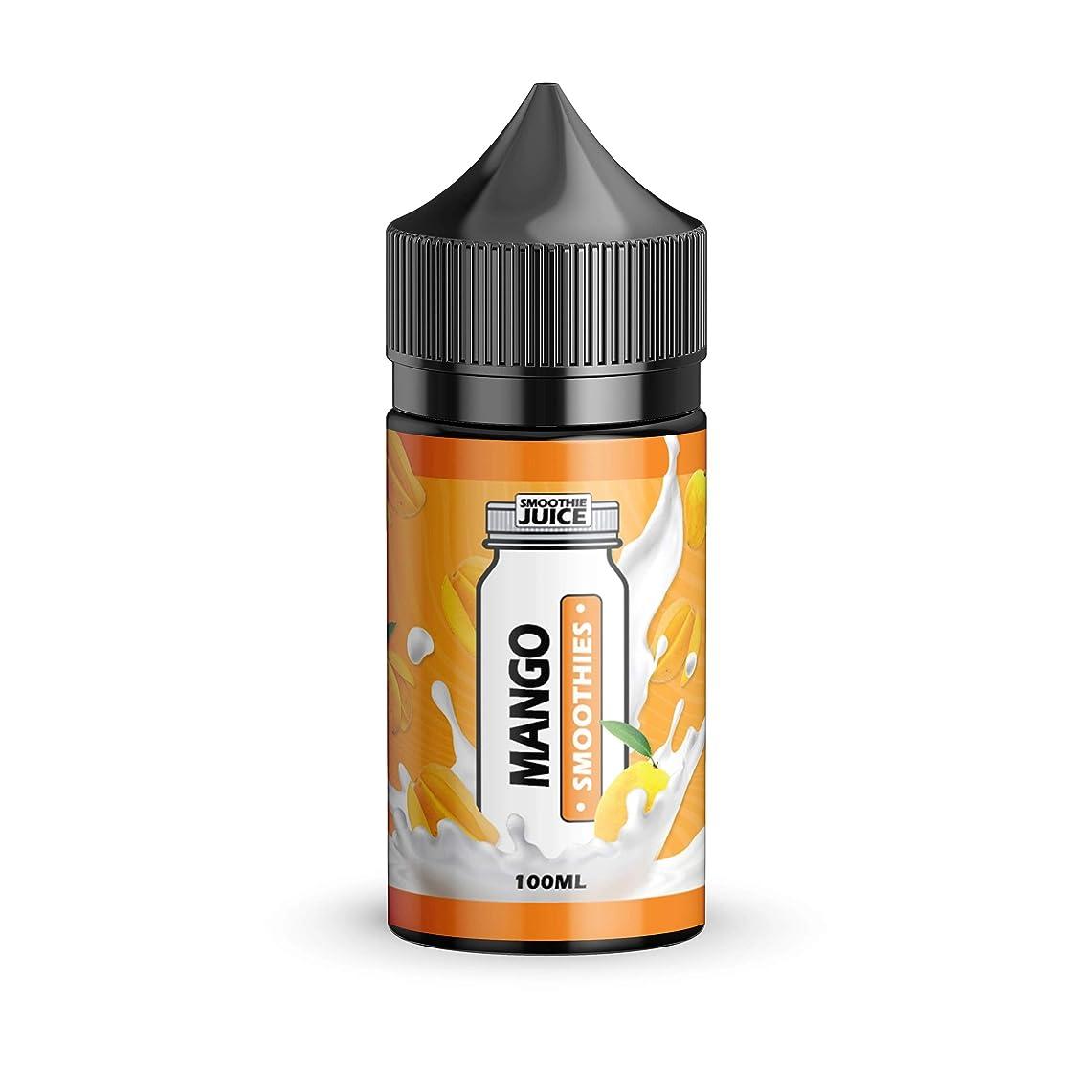 大人気 Smoothie Juice VAPE 電子タバコ リキッド マレーシア産 VapeHub.JPオリジナルセット (Mango Smoothies, 100ml)