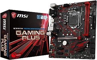 MSI Gaming Plus Micro ATX Motherboard, DDR4, LGA 1151, B360M Gaming Plus