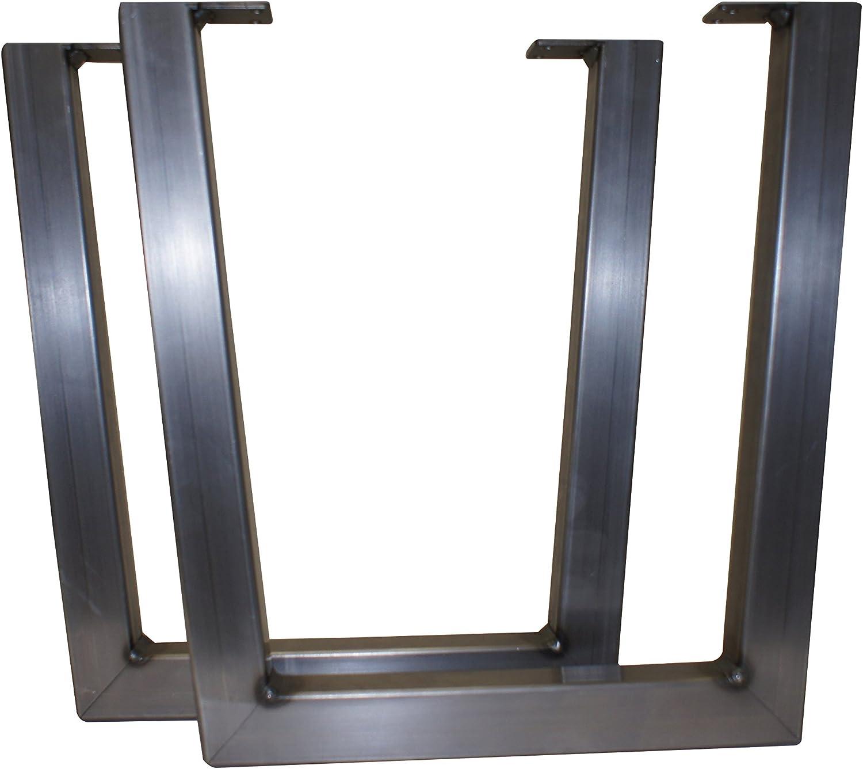 15'' High V Shaped Steel Furniture Leg - 2 pack - Modern Industrial Design