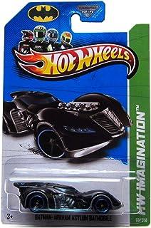 2013 Hot Wheels Hw Imagination - Batman: Arkham Asylum Batmobile