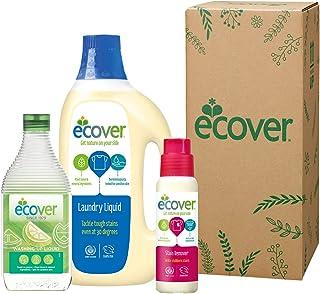 エコベール 洗剤ギフト ECG-30-9 (食器用洗剤レモン450mL + ランドリーリキッド1500mL + ステインリムーバー200mL)