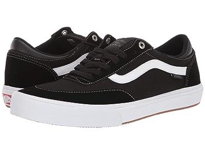 Vans Gilbert Crockett Pro 2 (Black/True White) Skate Shoes