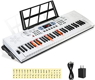 Hricane Keyboard Piano Lighted Keys for Beginner Adults Teen