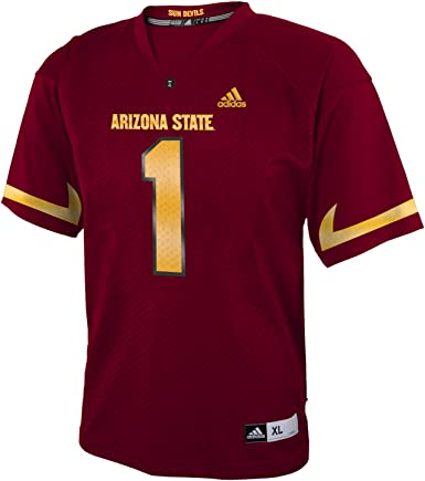 adidas Arizona State Sun Devils NCAA # 1 Youth Replica Football Jersey
