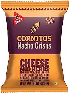 CORNITOS Nacho Crisps Cheese and Herbs, 150 gm