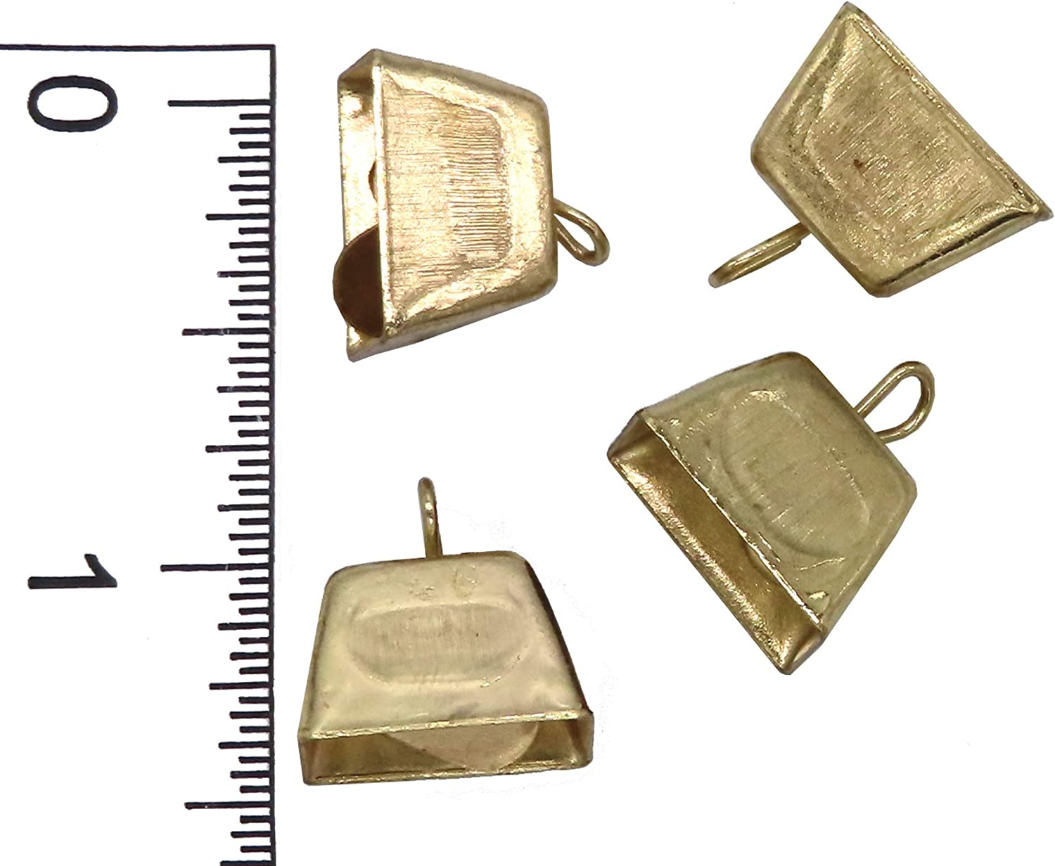 1 Gold Cowbell 36pc