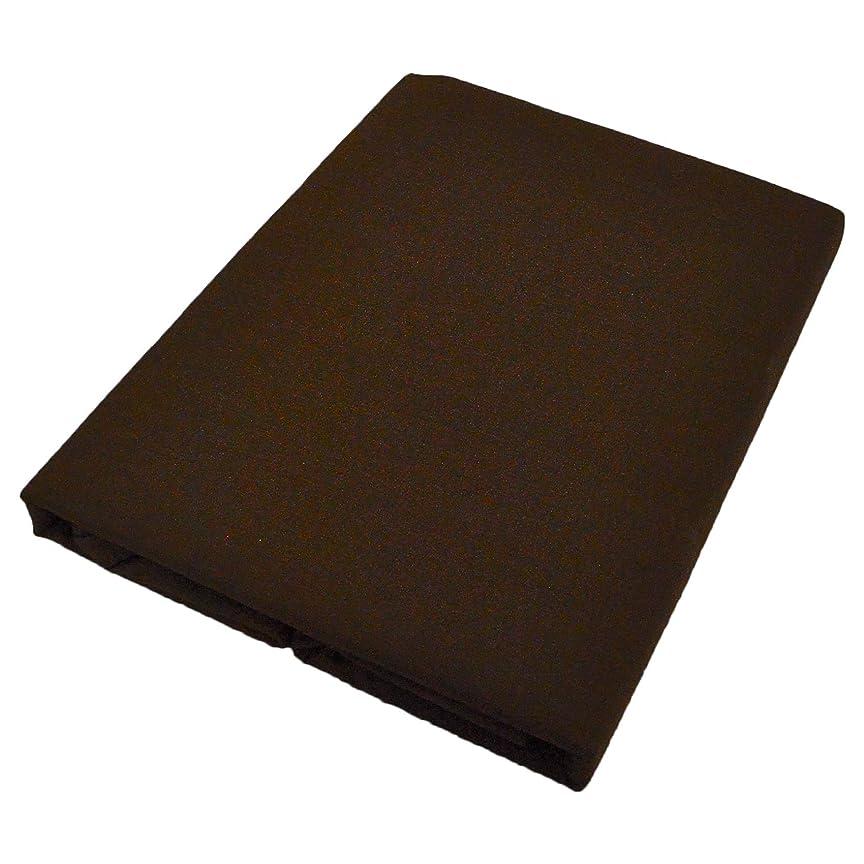 肘視力動かない日本製 掛け布団カバー 綿100% 和晒し ガーゼ ダブルロングサイズ 190cmX210cm ブラウン ダブル