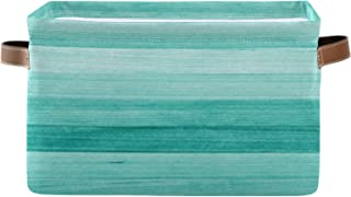 REFFW Lot de 2 bacs de Rangement en Tissu Pliables pour la Maison, Panier de Cube pour Placard à la Maison, tiroirs de Cha...