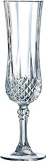 Eclat 14441 6 flûtes 14 cl Longchamp, Verre Cristallin, Transparent, 0 cm