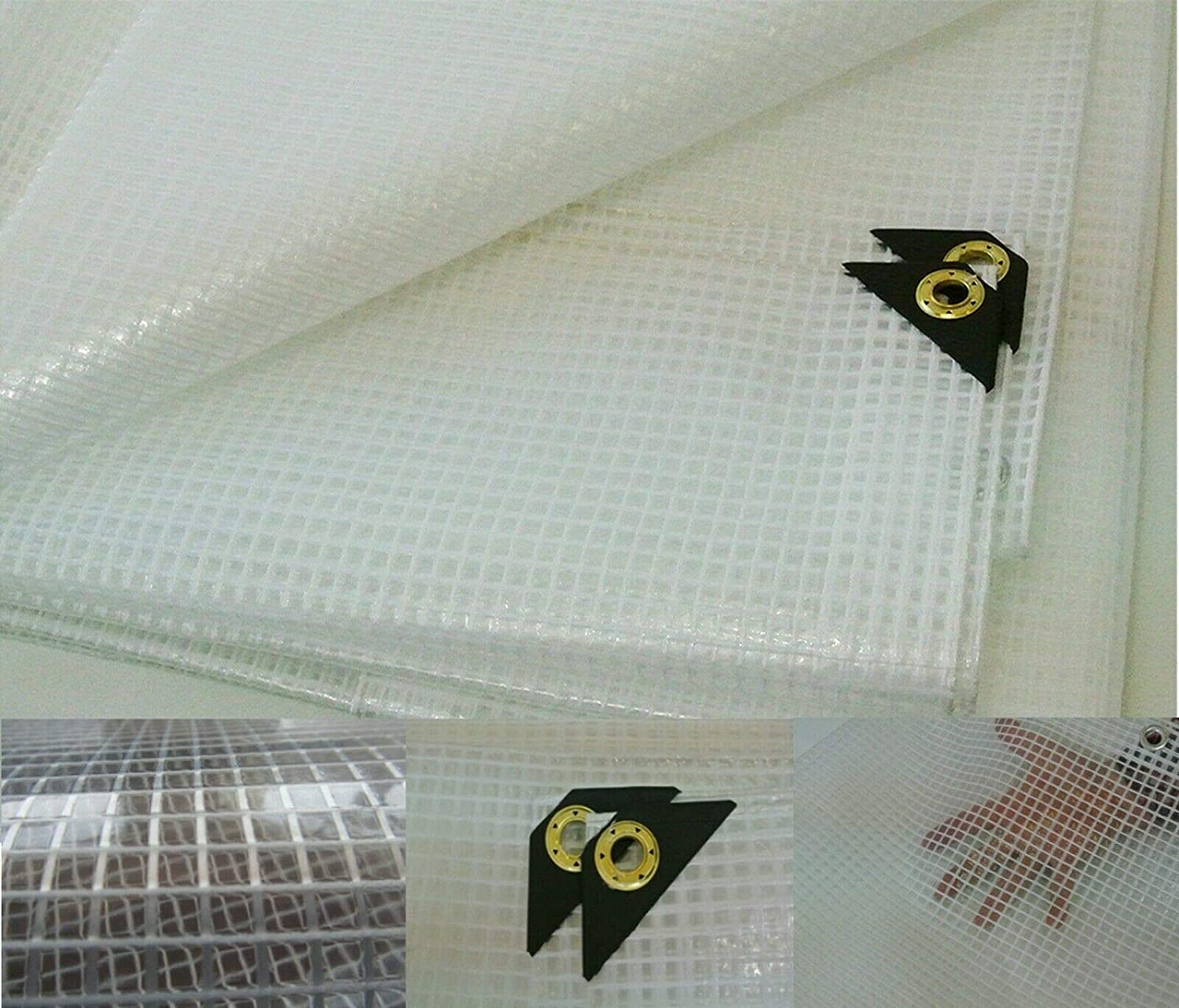 Clear Heavy 67% OFF of fixed price Duty 14 Mil Poly Green Nursery Reinforced Free Shipping Cheap Bargain Gift Tarp Fiber