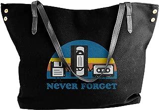 Never Forget - Floppy Disk, VHS, And Cassette Tape Women Shoulder Bag,shoulder Bag For Women