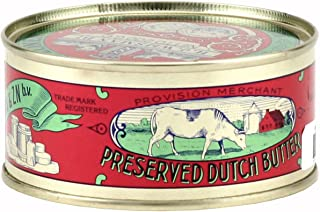 Preserved Dutch Butter (Salted Butter) 7.05oz (Pack of 3)