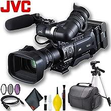 JVC GY-HM850U ProHD Compact Shoulder Mount Camera with Fujinon 20x Lens Standard Bundle