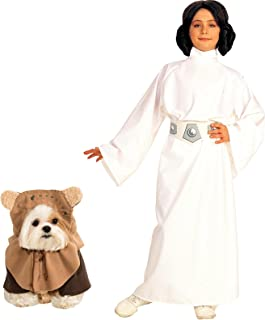 Rubie's Star Wars - Princess Leia - M Ewok Pet Small Bundle Set