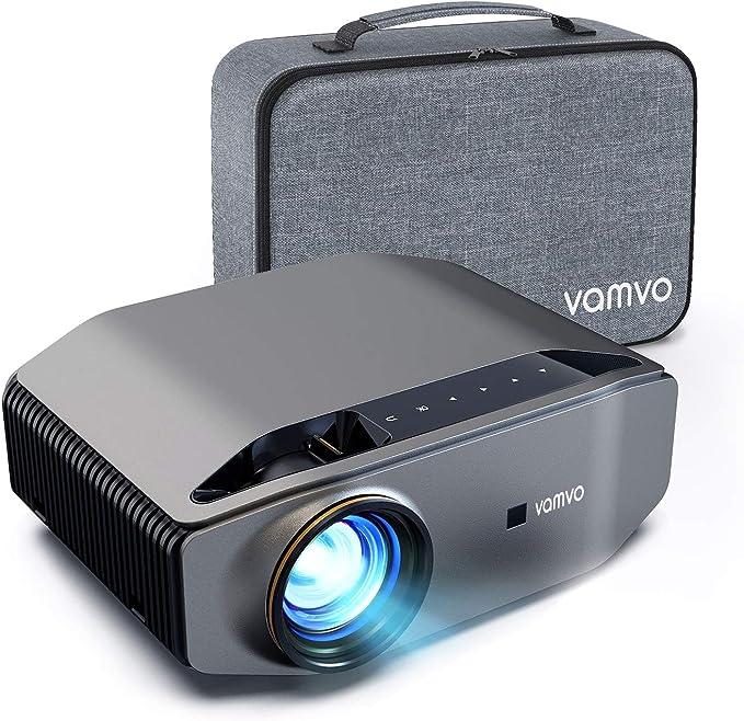 1022 opinioni per Proiettore, Vamvo L6200 Videoproiettore Full HD Nativo 1080p 7000 Lux con Dolby,