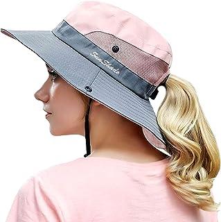 OZ SMART Wide Brim Sun Hat UPF 50 + UV Protection, Women Premium Multiple Styles Bucket Hat for Fishing, Hiking, Camping, ...