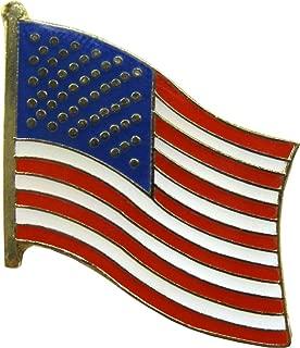 Flag - Waving American Flag - Enamel Pin