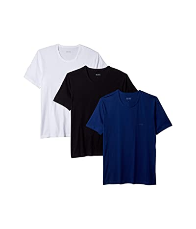 BOSS Hugo Boss T-Shirt Round Neck 3-Pack (Blue) Men