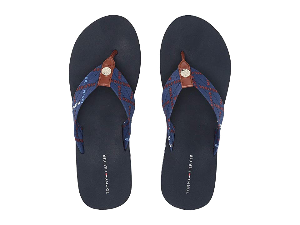 Tommy Hilfiger Cadra (Navy) Women's Sandals